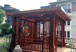 北京刘总发来的中式凉亭效果图