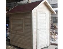 15平方、20平方、30平方、50平方的防腐木木屋造价成本