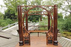 常见的木制四角凉亭安装步骤